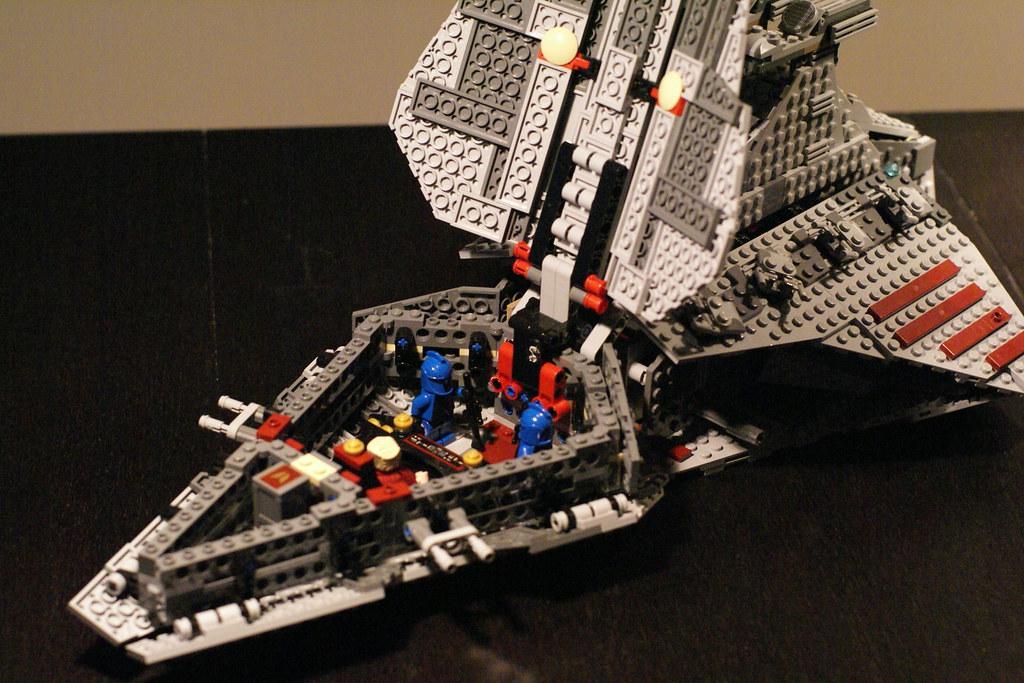 ... Lego Set 8039 Venator-class Republic Attack Cruiser | by Dude of Lego