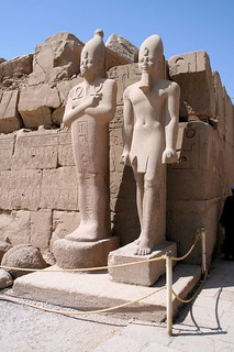Karnak Temple Statues 1 | by Son of Groucho
