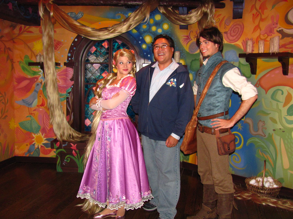 Meeting rapunzel and flynn at the tangled meet and greet flickr meeting rapunzel and flynn at the tangled meet and greet by castles kristyandbryce Choice Image