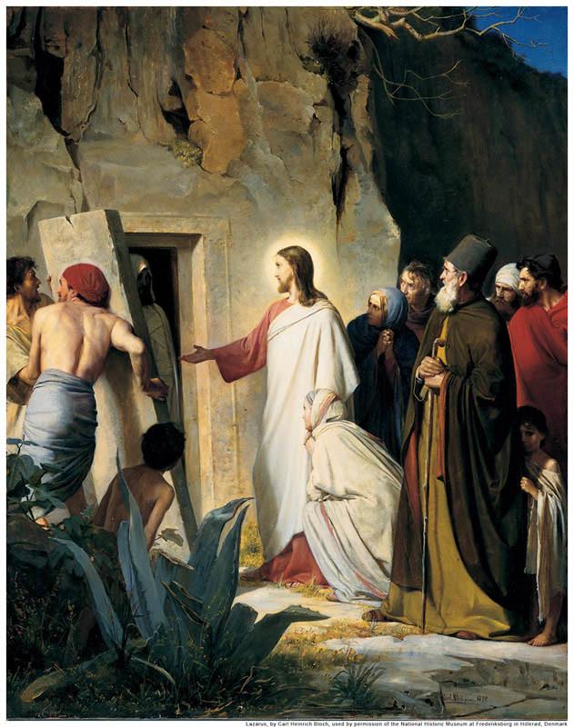 Jesus Lazarus Dead Mormon