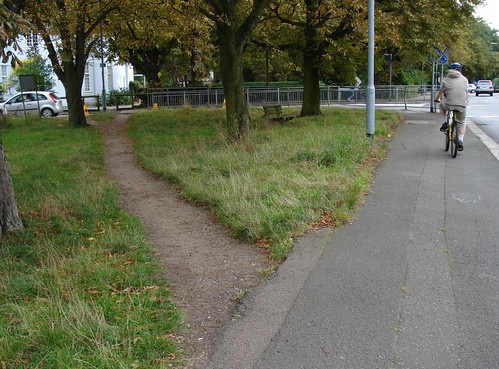 Desire path and desire cycle path | by Kake .