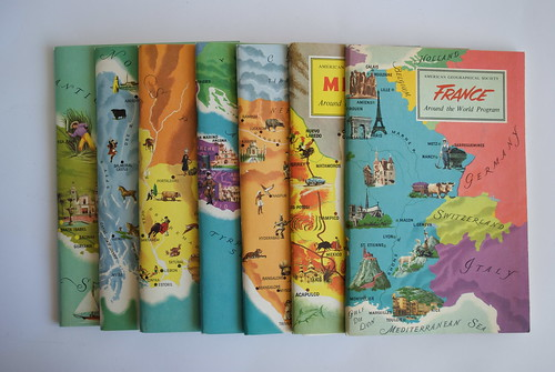 Around the World 1957 Travel Guides | by hyperakt