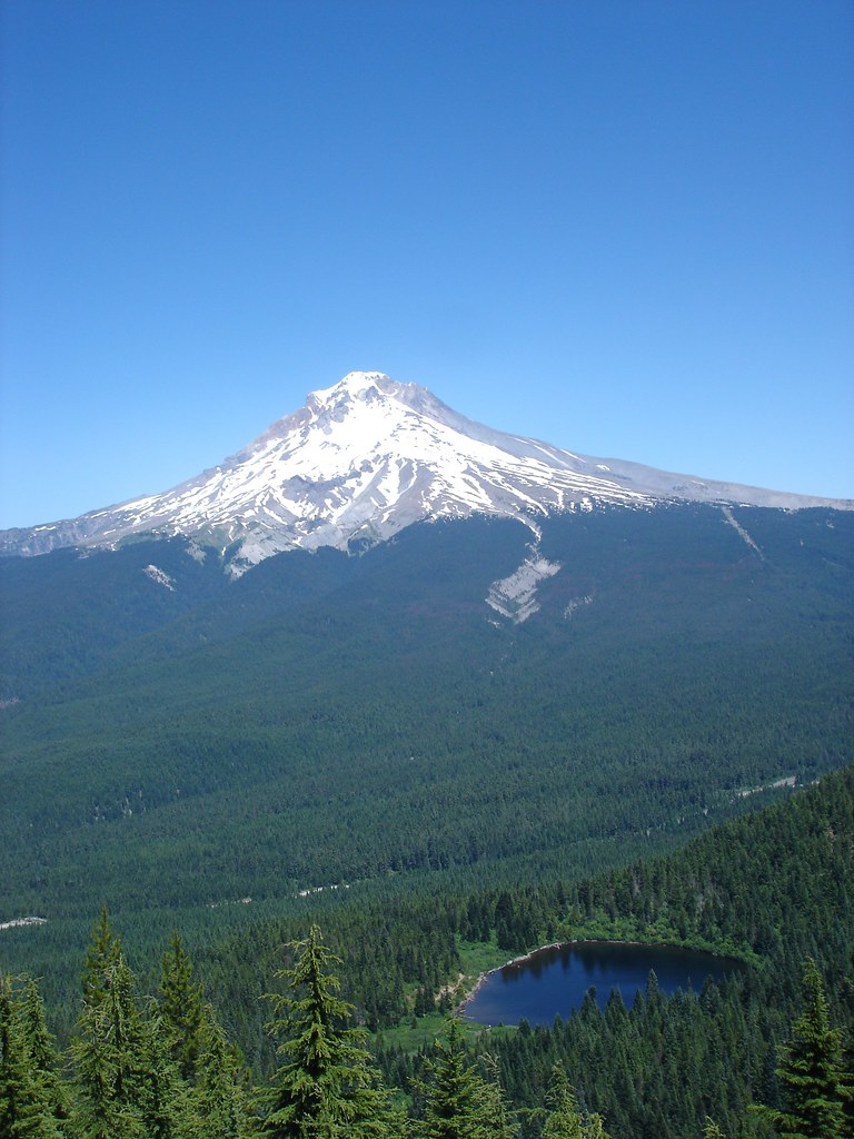 By Dan Haneckow Mt Hood And Mirror Lake July 4 2007
