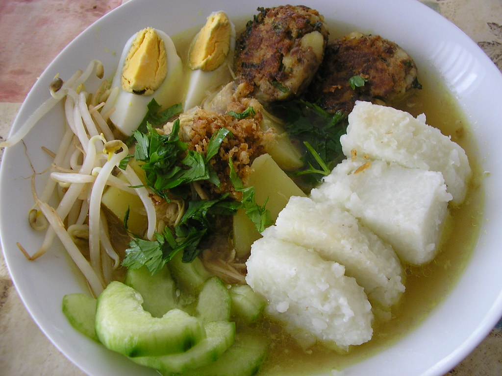 Image result for soto lontong