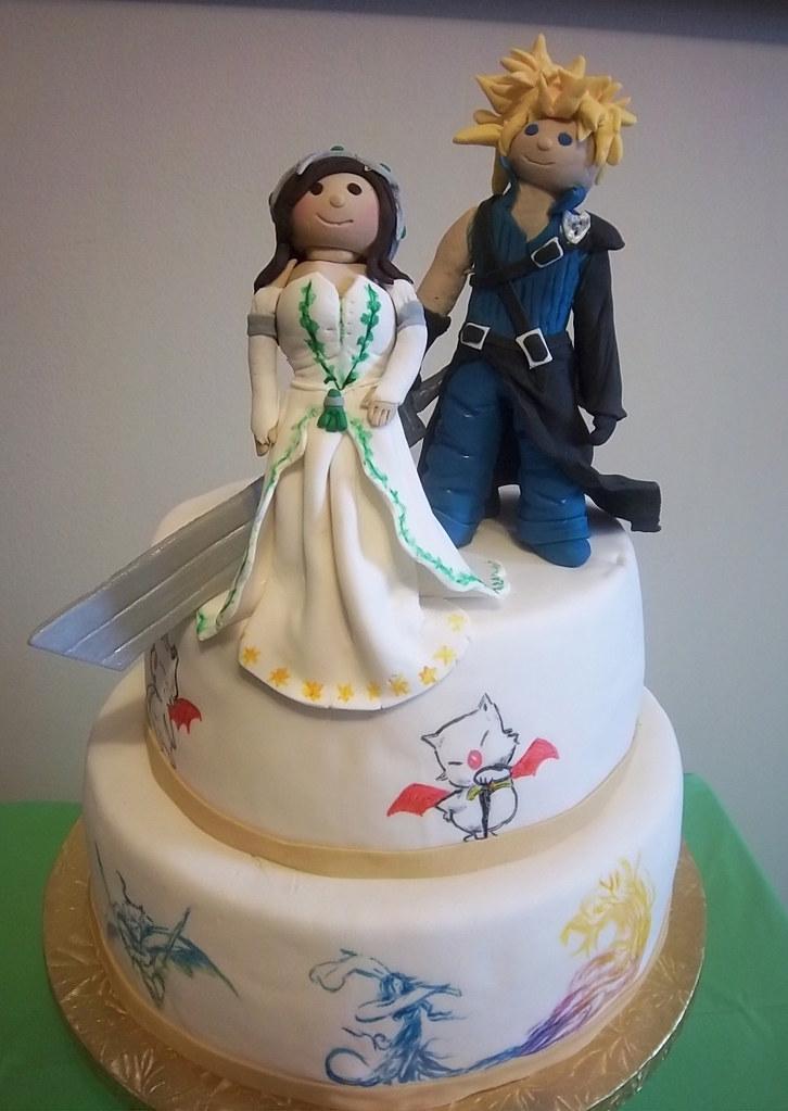 Final Fantasy Wedding Cake By Yahairam