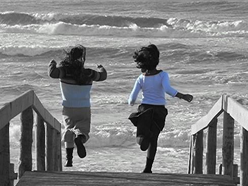 running free child tony white flickr