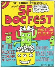 SF DOCFEST poster | by DAVe Warnke