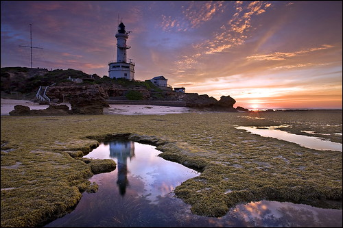 low tide light house | by Kyle Simpson (left the building)