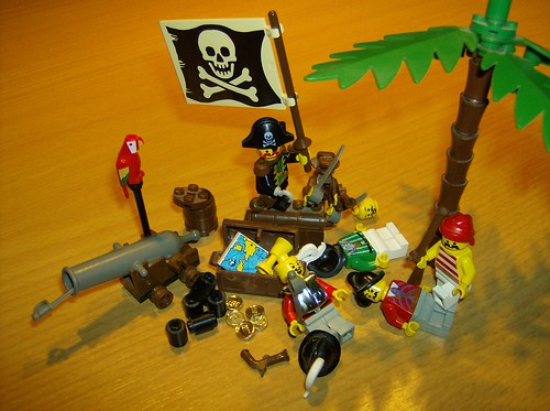 Piraten, aus Lego | by playroughde