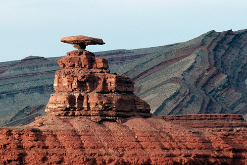 """Mexican Hat"" Monument in Arizona 