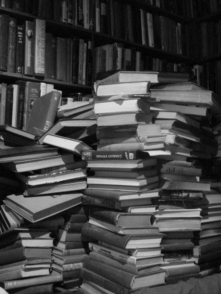 Image result for paperback pile
