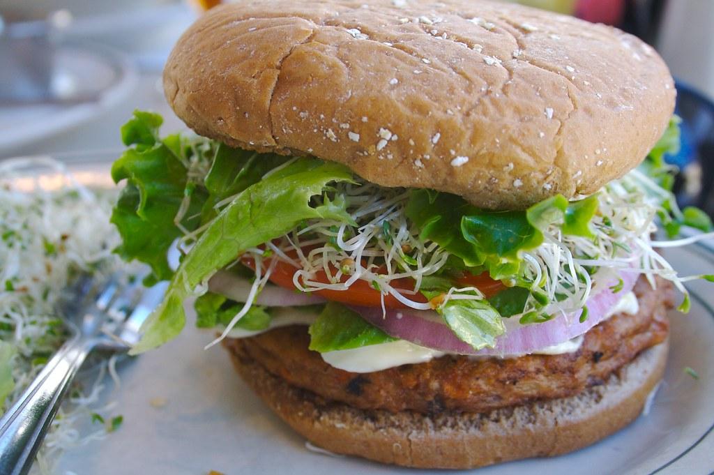 Image result for veggie burger