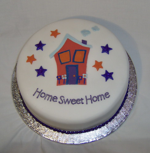 Cake Decorating Ideas For Housewarming : House Warming Cake This cake was made for a housewarming ...