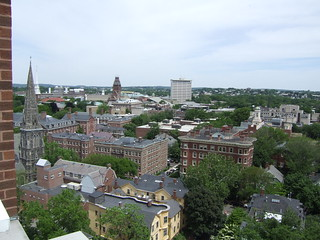Looking back at Harvard Yard from the Penthouse | by joebeone