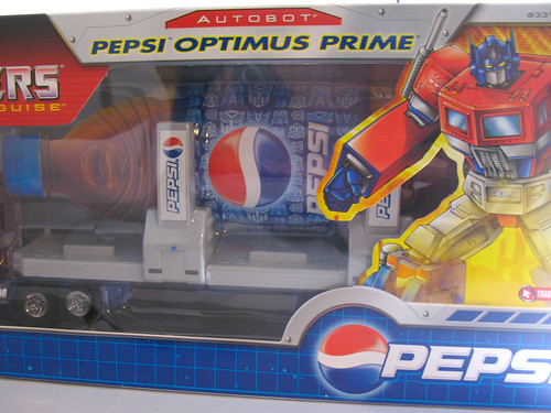 Hasbro Pepsi Optimus Prime | by naladahc