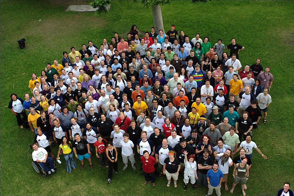 Debconf 6 group photo | The of...