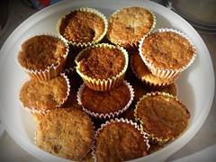 Banana Muffins using Pamela's Mix | by healthyfishies
