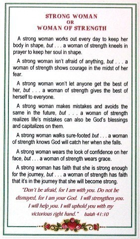 Strong Woman Poem For All Women Elmo Buckner Flickr