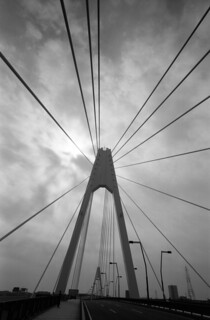 Suspension bridge tower | by Snap Shooter jp