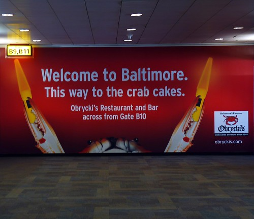 Baltimore Crab Cakes Airport