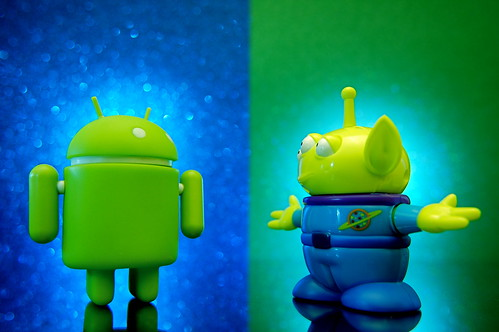 Android vs. Alien (305/365) | by JD Hancock