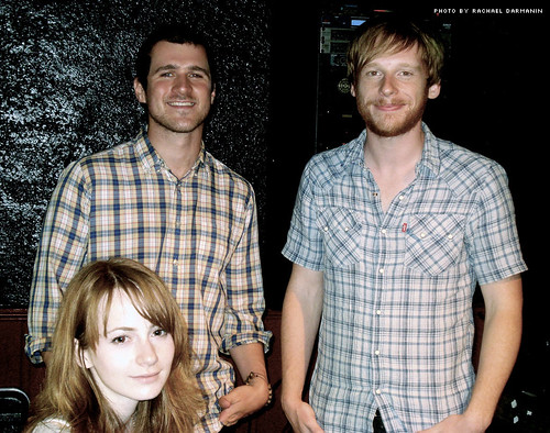 grace read, jesse lacey, kevin devine at maxwells 7.30.07 | by Underrated Blog