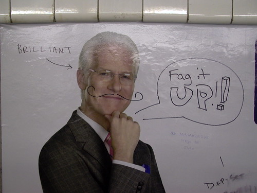 Tim Gunn fags it up! | by thefuturistics