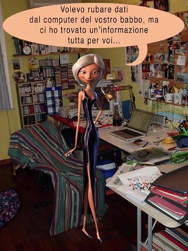 Mirage Nello Studio Del Babbo  Quella Pasqua In Cui Gli -1524