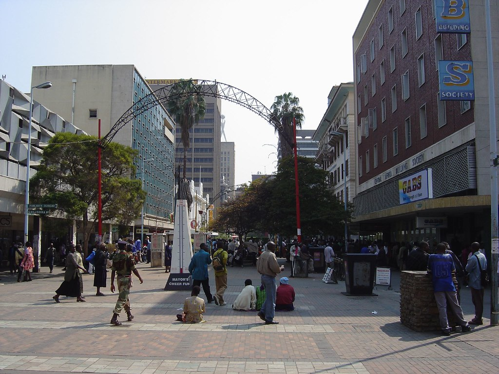Image result for harare first street