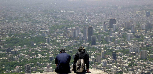 Love on Tehran`s Roof | by Mohammadali