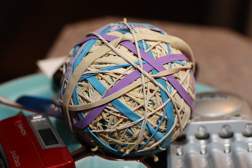 rubber band ball | by michaelthomson