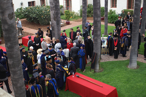 Staff Preparing for Graduation | by California State University Channel Islands