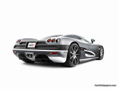 Koenigsegg CCX rear-view | by fastwallpapers