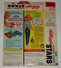 1963 Kellogg's STARS cereal box | by grickily