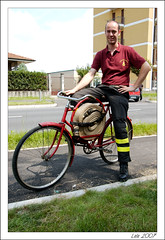 Firefighter bicycle bicicletta da vigile del fuoco for Spinelli arredamenti carate brianza