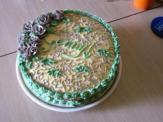 Gennys 33rd Birthday Cake