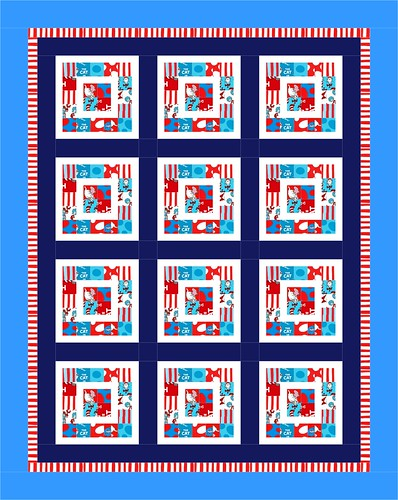 "My Block for 100 Blocks - ""Boxed In"" - Layout #2 