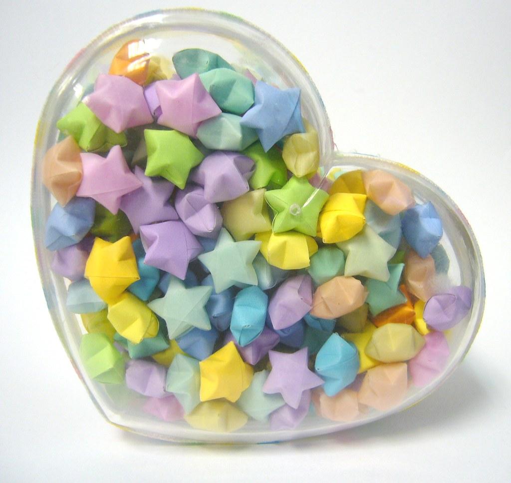 Hearts N Stars Origami Lucky Star Jar