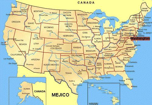 carte geographique etats unis (USA) | Retrouvez la carte geo… | Flickr