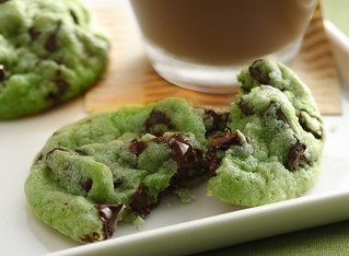 Mint Chocolate Chip Cookies Recipe | by Betty Crocker Recipes