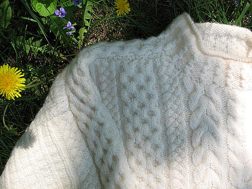 Aran detail | by coco knits