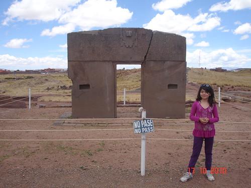Tiwanaku puerta del sol santiago stucchi portocarrero for Puerta del sol santiago