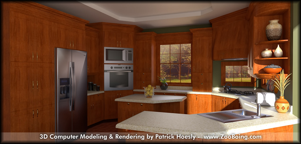 Real Kitchen Background 3d renderings | flickr