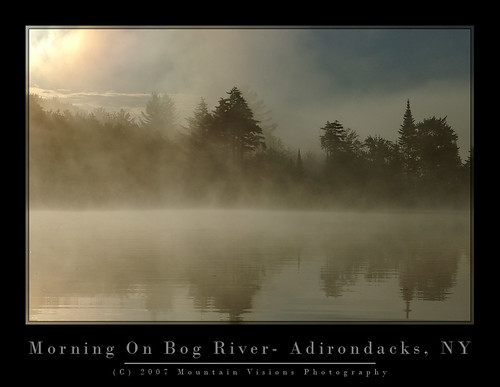 Early Morning Mist On The Bog River | by Mountain Visions