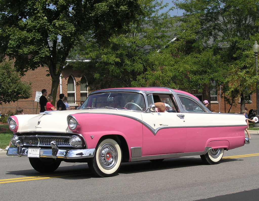 1955 ford fairlane crown victoria blog cars on line -  Ford 55 Crown Victoria By Mr History