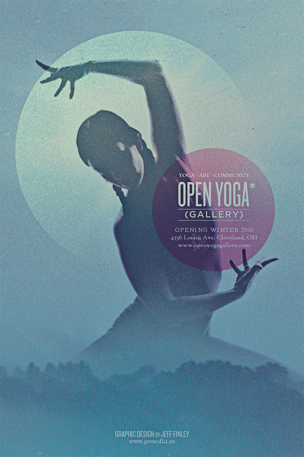 Open Yoga Gallery Flyer  Did This Flyer Design For Open Yog  Flickr