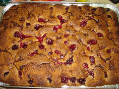 Cherry Coffee Cake | by BaronessTapuzina