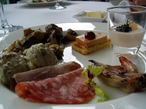 2007 07 01 02 provencale brunch at au jardin les amis 04 for Au jardin les amis menu