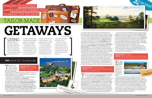 golf georgia editorial magazine design editorial design fo flickr. Black Bedroom Furniture Sets. Home Design Ideas