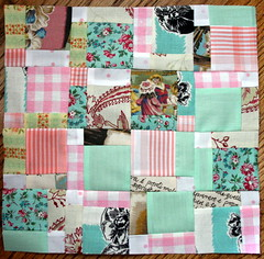 my first doll quilt | by artjunkgirl